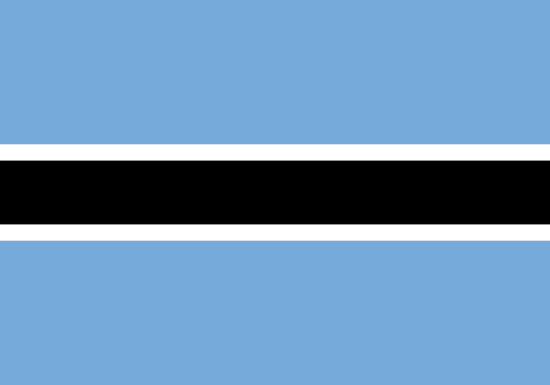 comprar bandera de botsuana
