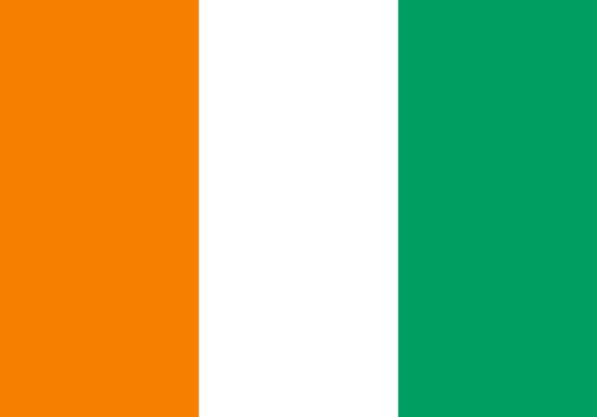 Comprar bandera de Costa de Marfil