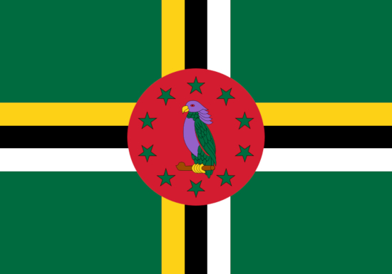 Comprar bandera Dominica