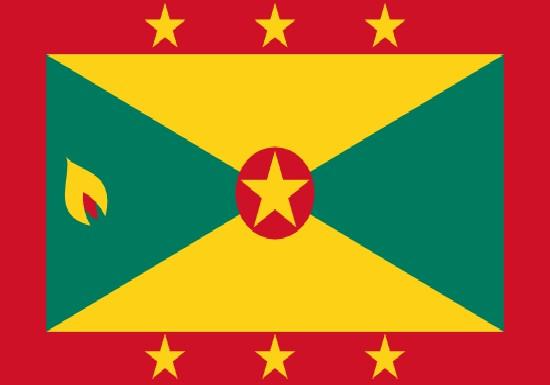 comprar bandera de Isla Granada