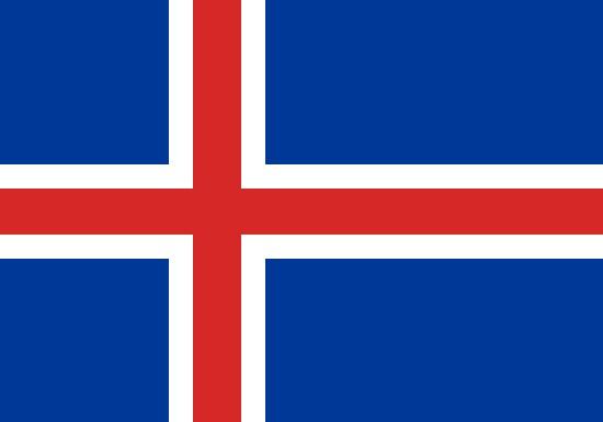 Comprar bandera de islandia