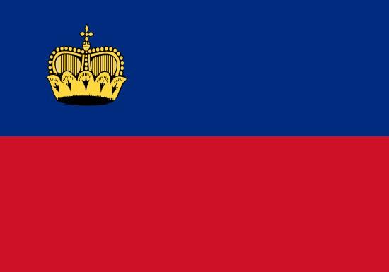 Comprar bandera de Liechtenstein