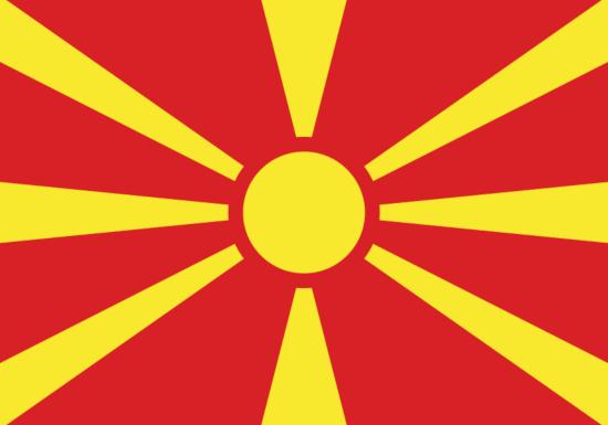 Comprar bandera de Macedonia