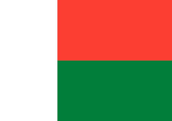 comprar bandera de Madagascar