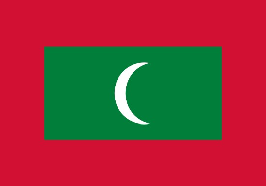 compra bandera de maldivas