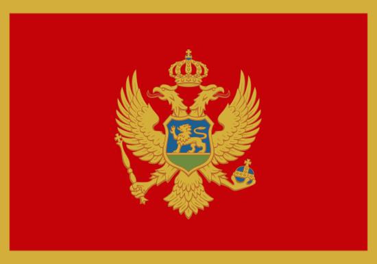 Comprar bandera de Montenegro