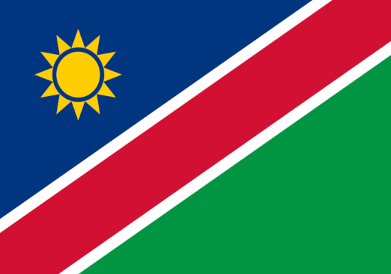 comprar bandera de namibia