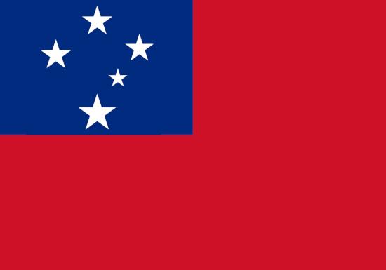 comprar bandera de samoa