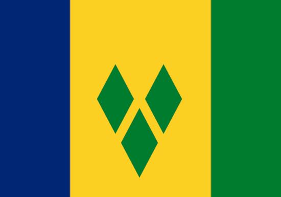 Comprar bandera de San Vicente y las Granadinas