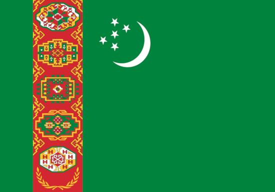 comprar bandera turkmenistan