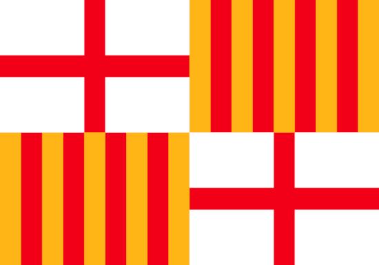 Comprar bandera de Barcelona Ciudad