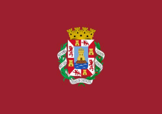 Comprar bandera de Cartagena
