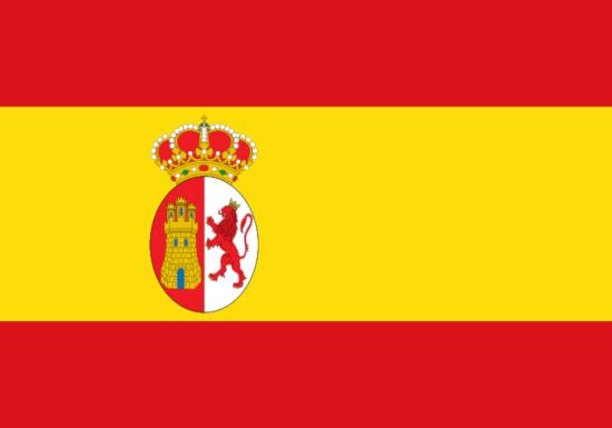 Bandera de España entre 1785 y 1873