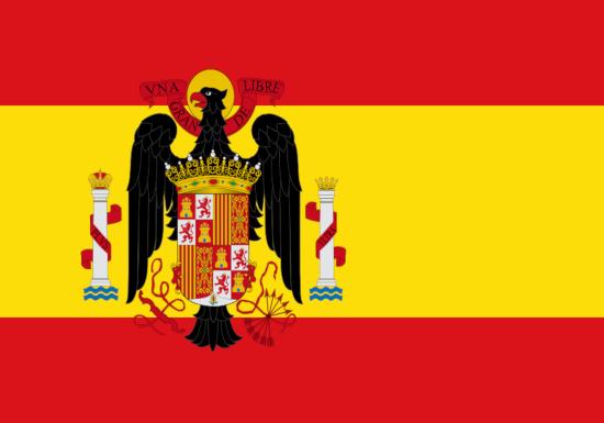Bandera de Esp. Águila 1945 - 1977