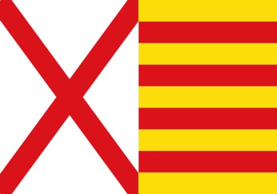Bandera de Hospitalet de Llobregat
