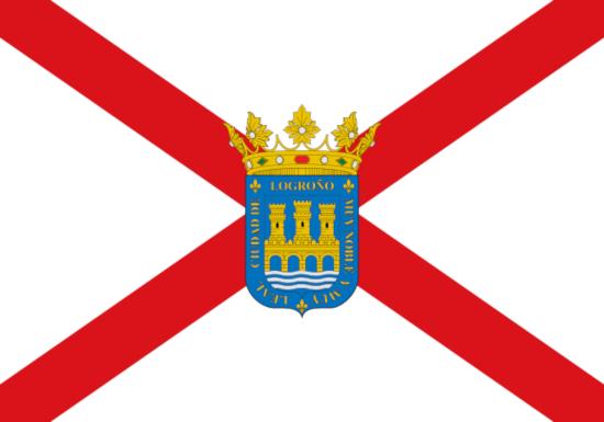 Comprar bandera de Logroño