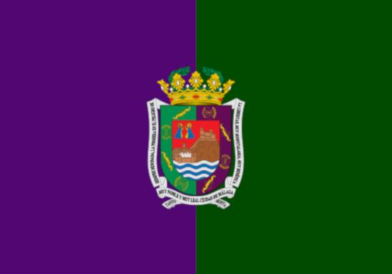 Comprar bandera de Málaga Ciudad