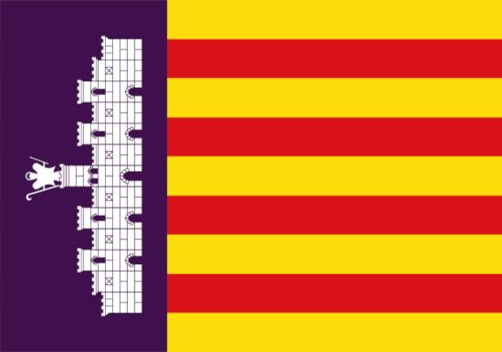 Comprar bandera de Palma de Mallorca