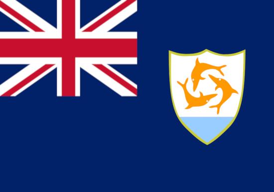 Comprar bandera de Anguila