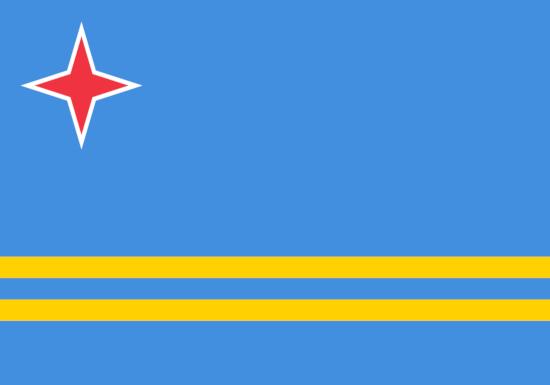 Comprar bandera de Aruba