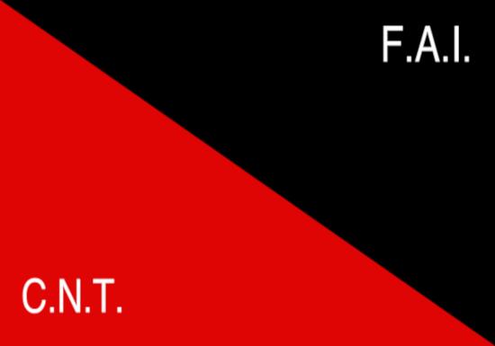 Comprar bandera de CNT-FAI