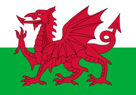 Comprar bandera de Gales