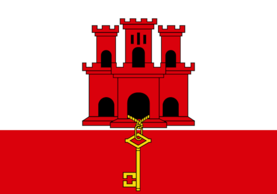 Comprar bandera de Gibraltar