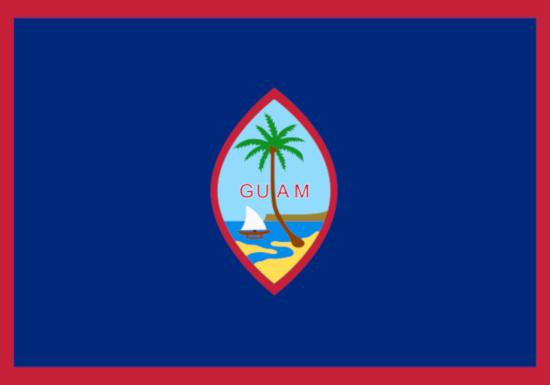 Comprar bandera de Guam