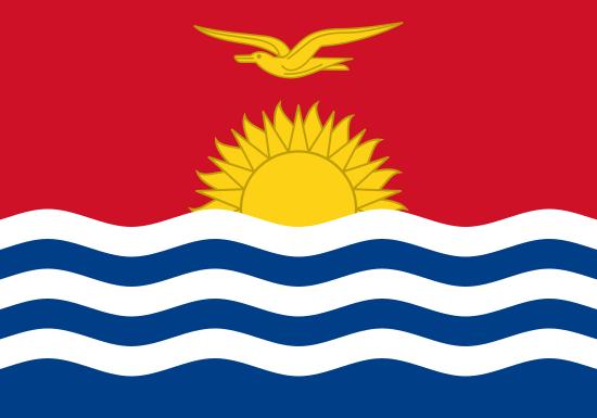 Comprar bandera de Kiribati