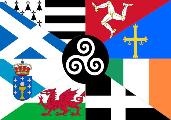 Comprar bandera de Naciones Celtas