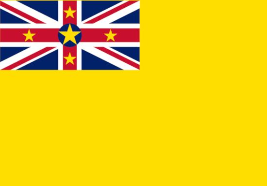 Comprar bandera de Niue