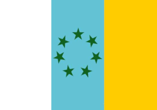 Comprar bandera de Tricolor Canaria